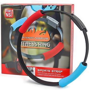 GoolRC Compatible con Nintendo Switch Joy-con Ring Fit Adventure Game Correa de Pierna elástica Ajustable Sport Band Ring-con Grips Leg (El Producto no Contiene Juegos): Amazon.es: Juguetes y juegos