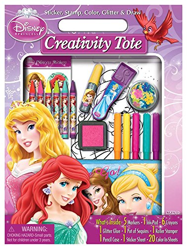 Bendon Disney Princess Take-Along Stationary Tote