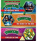 Teenage Mutant Ninja Turtles - The Movie Collection - 3 Disc Set (Teenage Mutant Ninja Turtles/Secret Of The Ooze/Turtles In Time) (Blu-ray) [UK Import]