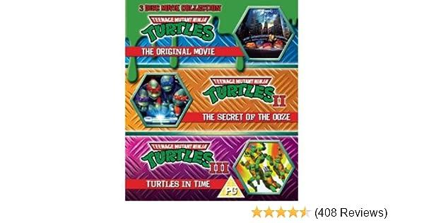 Amazon.com: Teenage Mutant Ninja Turtles-The Movie ...