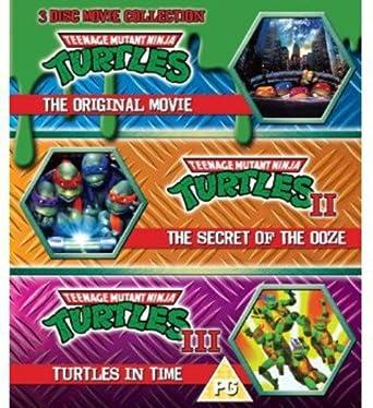 Teenage Mutant Ninja Turtles - The Movie Collection - 3 Disc ...