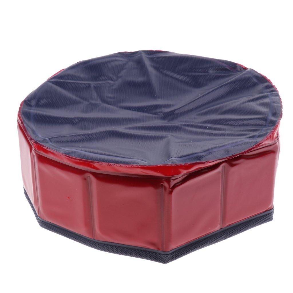 Baignoire Pliante Chien//Chat MagiDeal Pliable Chien Piscine Baignoire en Plastique de Animal Domestique portable pour Voyage Camping Randonn/é 30x10cm