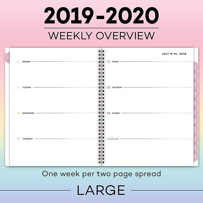 Amazon.com: Matt Crump 2019-2020 Planificador semanal y ...