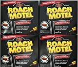 Black Flag 8 traps Roach Motel Cockroach Killer bait Glue Trap