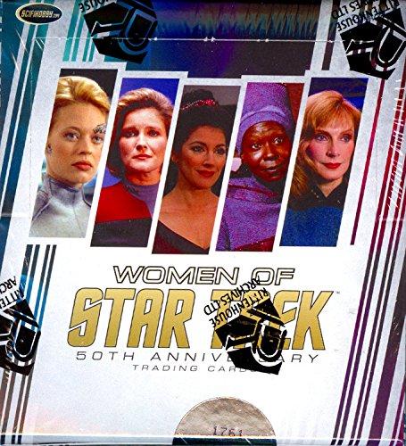 Verzamelingen 2017 Rittenhouse Women of Star Trek 50th Anniversary box 24 pk