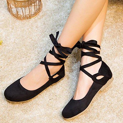 Donna Comfort Melady Ballets Flat 2 Flats black Pumps RBnqSCw