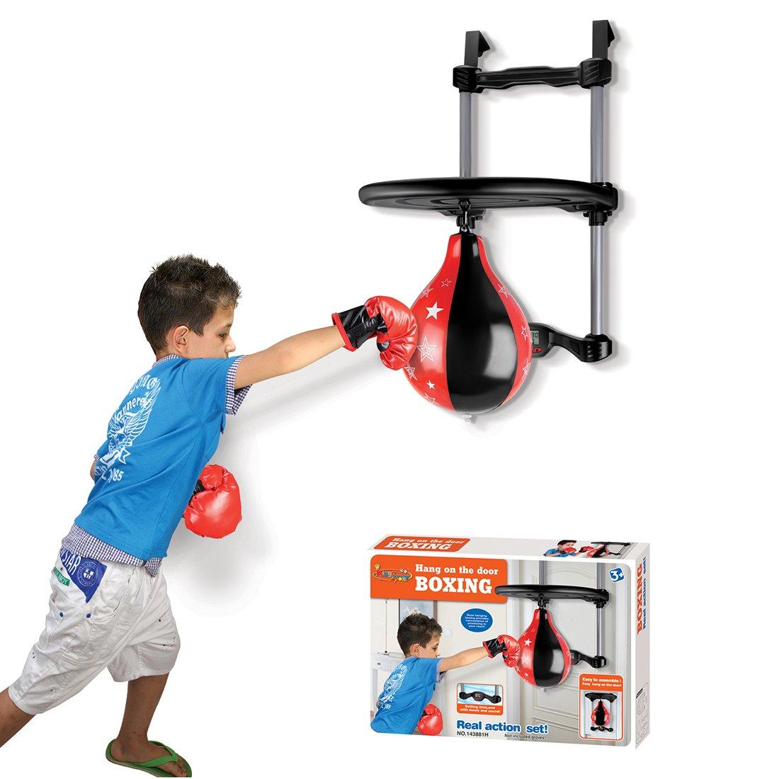 日本に hmane Hanging Boxing Punching Ball for Kids B07FDZ7ZF9 for withタイマースポーツPunching Boxing Bag forアウトドア/インドア B07FDZ7ZF9, ミハマチョウ:ac7176fa --- a0267596.xsph.ru