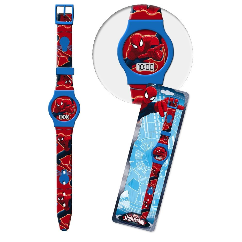 OROLOGIO SPIDERMAN MARVEL DA POLSO DIGITALE CONF. CM 23 - 41437CELESTE STAR LICENSING