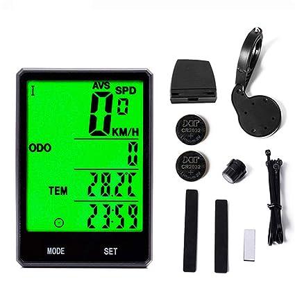 2.8/'/' Wired//Wireless Cycle Bicycle Computer Bike Speedometer Odometer Waterproof