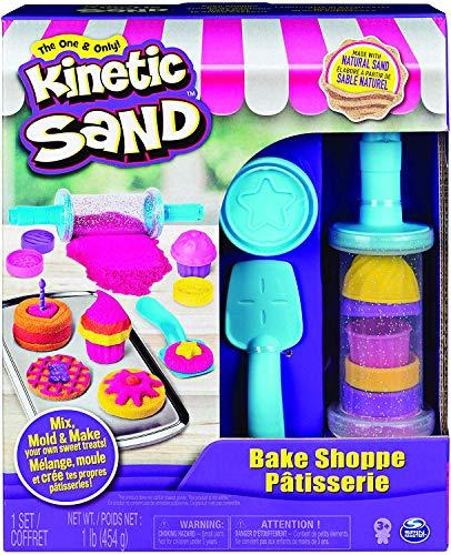 Kinetic Sand, Bake Shoppe Playset with 1Lb of...