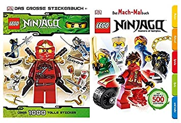 Fachbuch LEGO® Ninjago™ über 1000 Sticker Ninjas Waffen Das große Stickerbuch