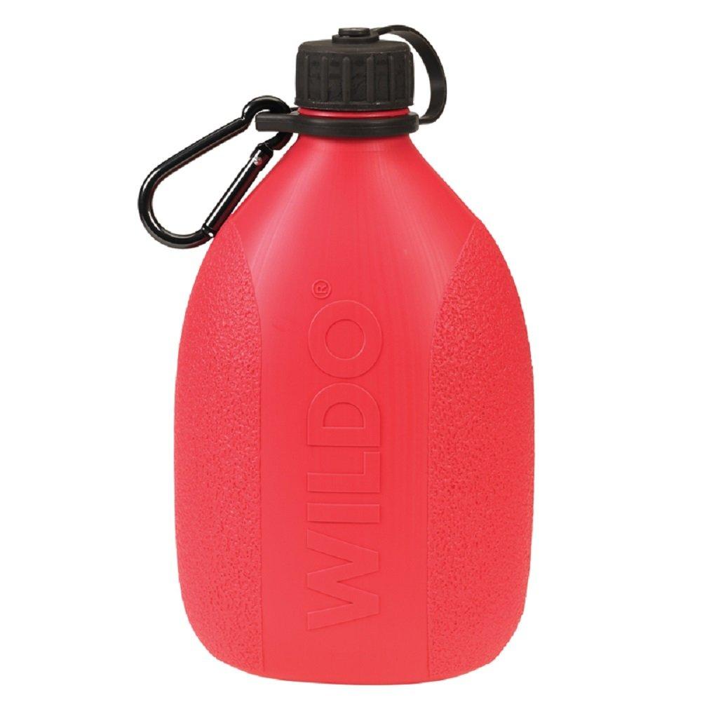 WildoキャンプハイキングCanteen水ストレージ軽量水ボトルW /カラビナBPAフリー B00T8Y48M0 ピンク ピンク