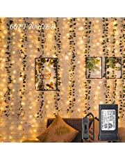 Cocoselected Fairy Lights for Bedroom,33ft 100LEDs Warm White Indoor String Lights USB Powered,Twinkle Lights for Teen Girls Bedroom Decor