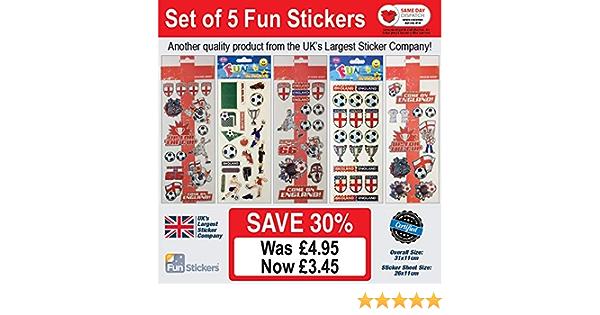 Fun Stickers England Football 974