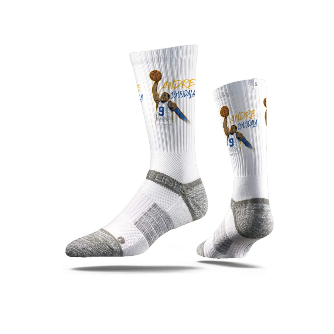 NBA Golden State Warriors Strideline Player Crew Socks Andre Iguodala Andre Iguodala