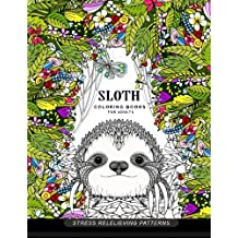 Sloth Coloring Book For Adults Animal Books