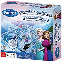 Frozen Snakes and Ladders (Snowflakes and Icicles) Game