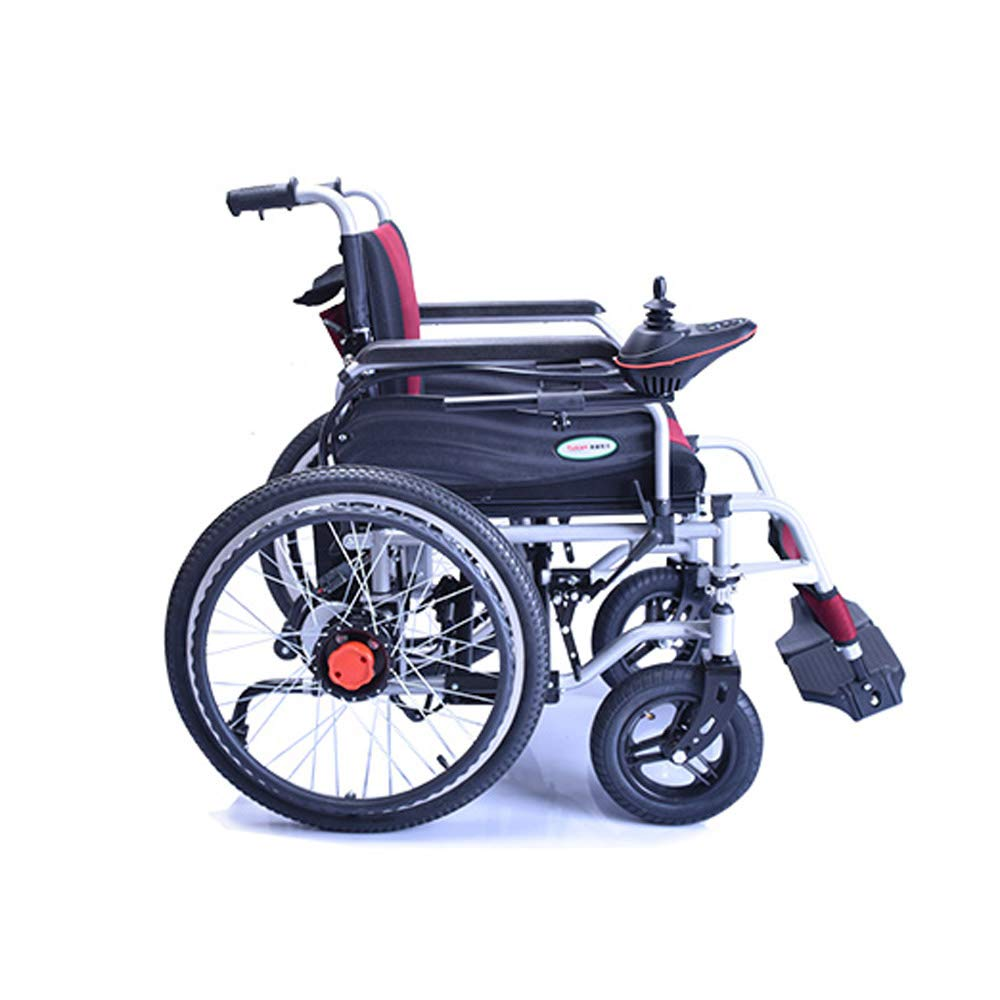 Amazon.com: YX Xuan Yuan Wheelchair, Disabled Four-Wheeled ...