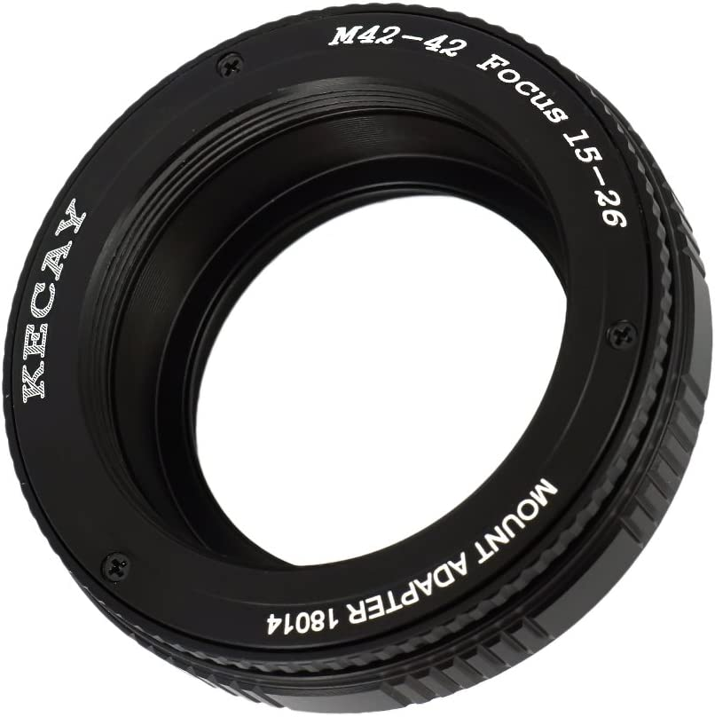 KECAY Pro M42 26mm 42mm to 42mm Lens Focusing Helicoid Adapter 15mm