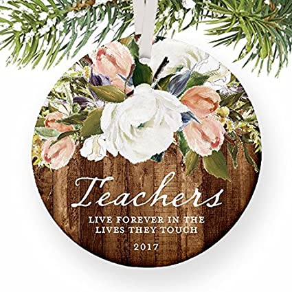 Amazon.com: Teacher Rustic Christmas Gift for Favorite Male or ...