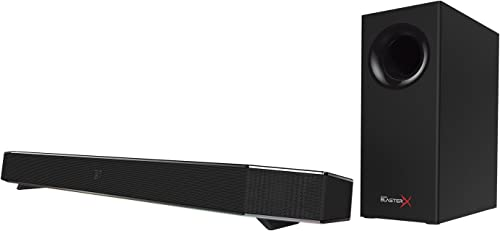 Sound BlasterX Katana Multi-Channel Surround Gaming and Entertainment Soundbar – Hardware Processing, Dolby Digital, and Bluetooth Enabled