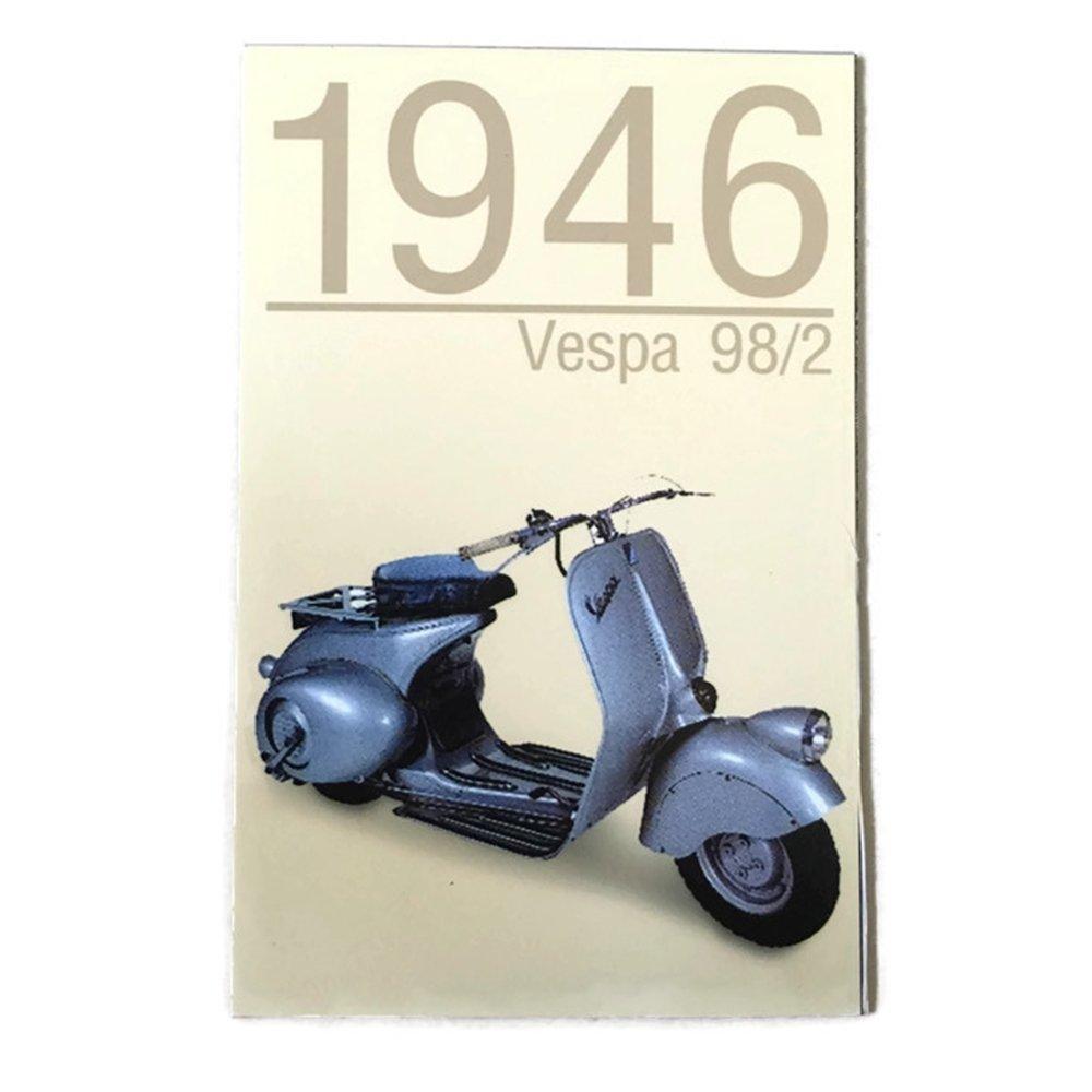 Agility Vespa 98/2 (1946 Year) Motorcycle Art 1 Collectible Vintage Photo Fridge Magnet