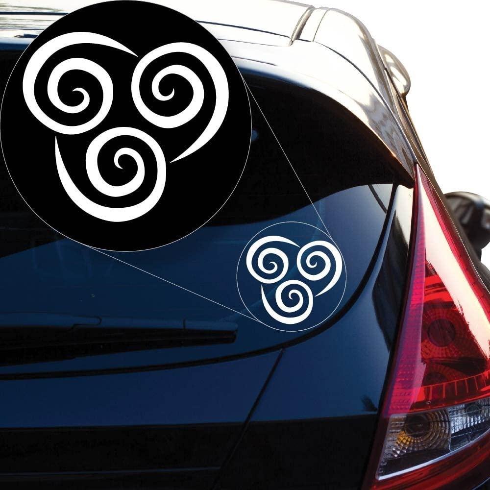 Avatar The Last Airbender Air Bending Vinyl Car Window Laptop Decal Sticker