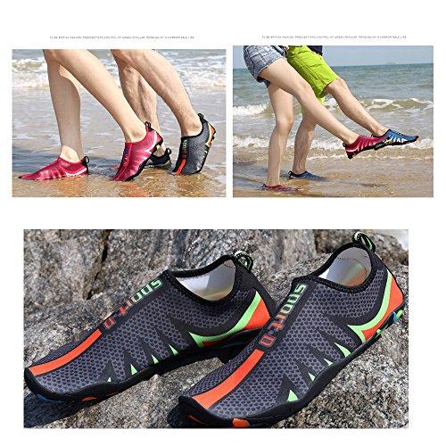 Beach blue Barefoot Men and for HooyFeel Shoes Water Multifunctional Shd Aqua Shoes Dry Women Quick Slip on 0dSqSa6