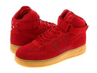 reputable site 7394a fef30  ナイキ  AIR FORCE 1 HIGH 07 LV8 GYM RED GUM LIGHT BROWN