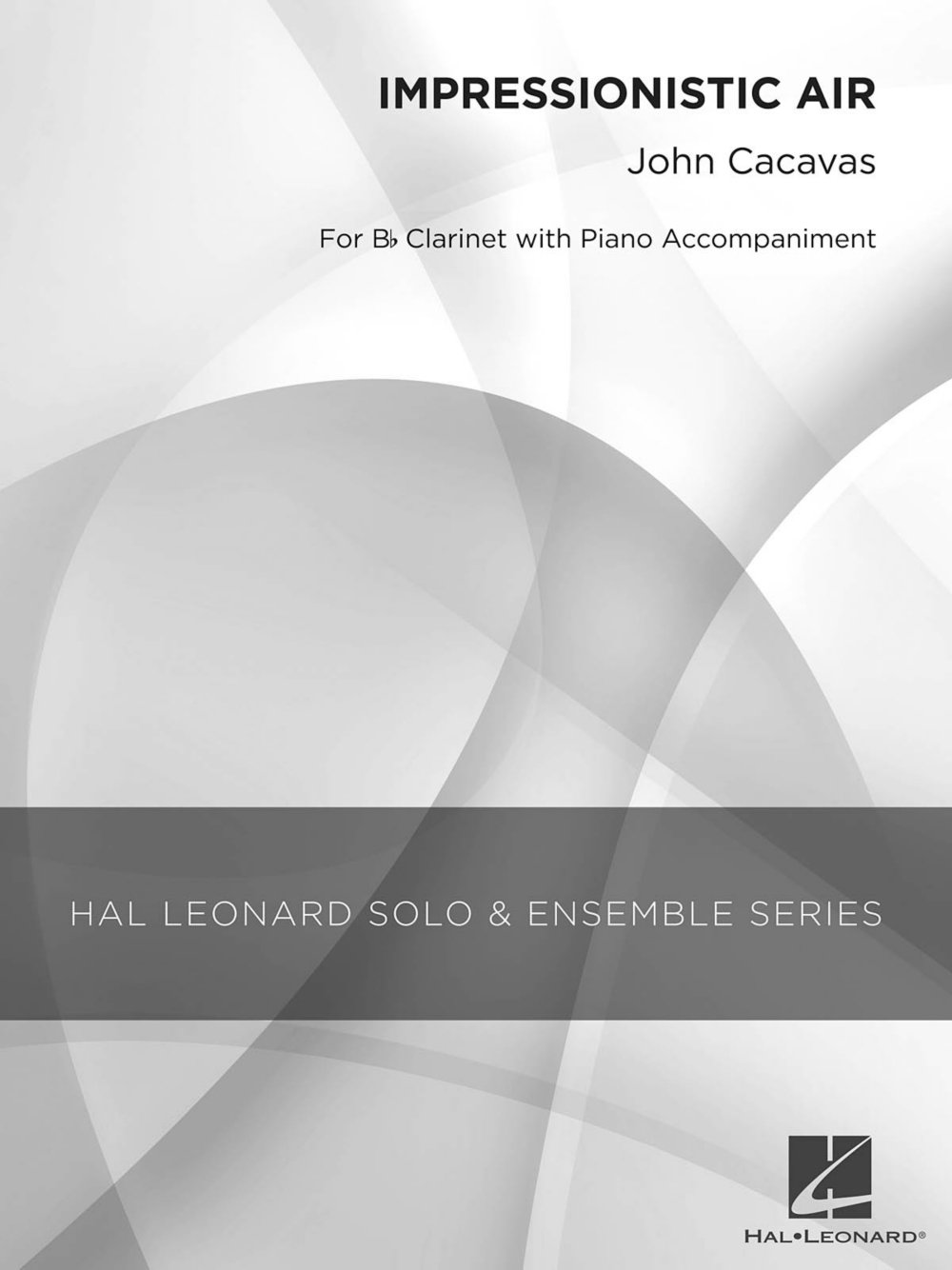 Download Hal Leonard Impressionistic Air (Grade 3 Clarinet Solo) Concert Band Level 2 Composed by John Cacavas PDF