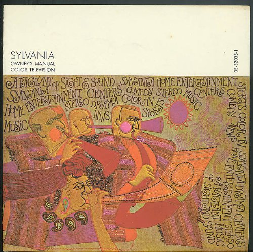 Sylvania GTE Color Television Owner's Manual & Tuning Guide 1960s ()