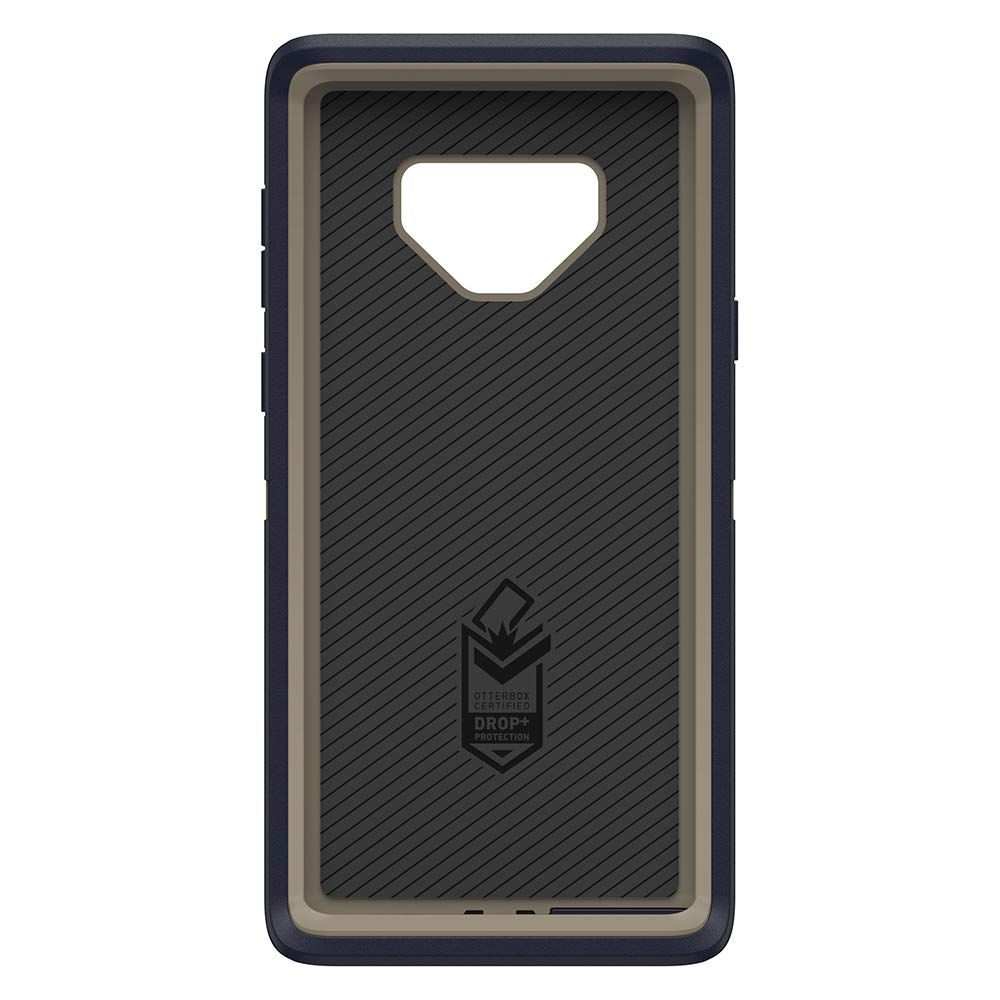 promo code 5de2c 140d6 OtterBox Defender Series SCREENLESS Edition Case for Samsung Galaxy Note9 -  Retail Packaging - Dark Lake (Chinchilla/Dress Blues)