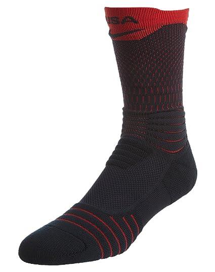 latest fashion arrives newest collection Nike Elite Versatility USA Basketball Crew Socks (475 Dark  Obsidian/University Red, X-Large)