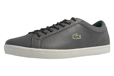 In Straightset Sp Lacoste Grau Sneaker Schuhe Herren 317 08mwNn