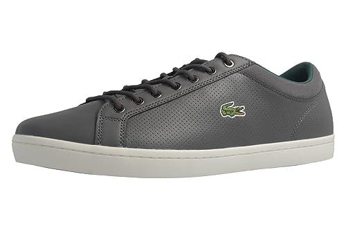 da670ba2d401f Lacoste - Zapatillas de skateboarding de Piel Lisa para hombre gris gris