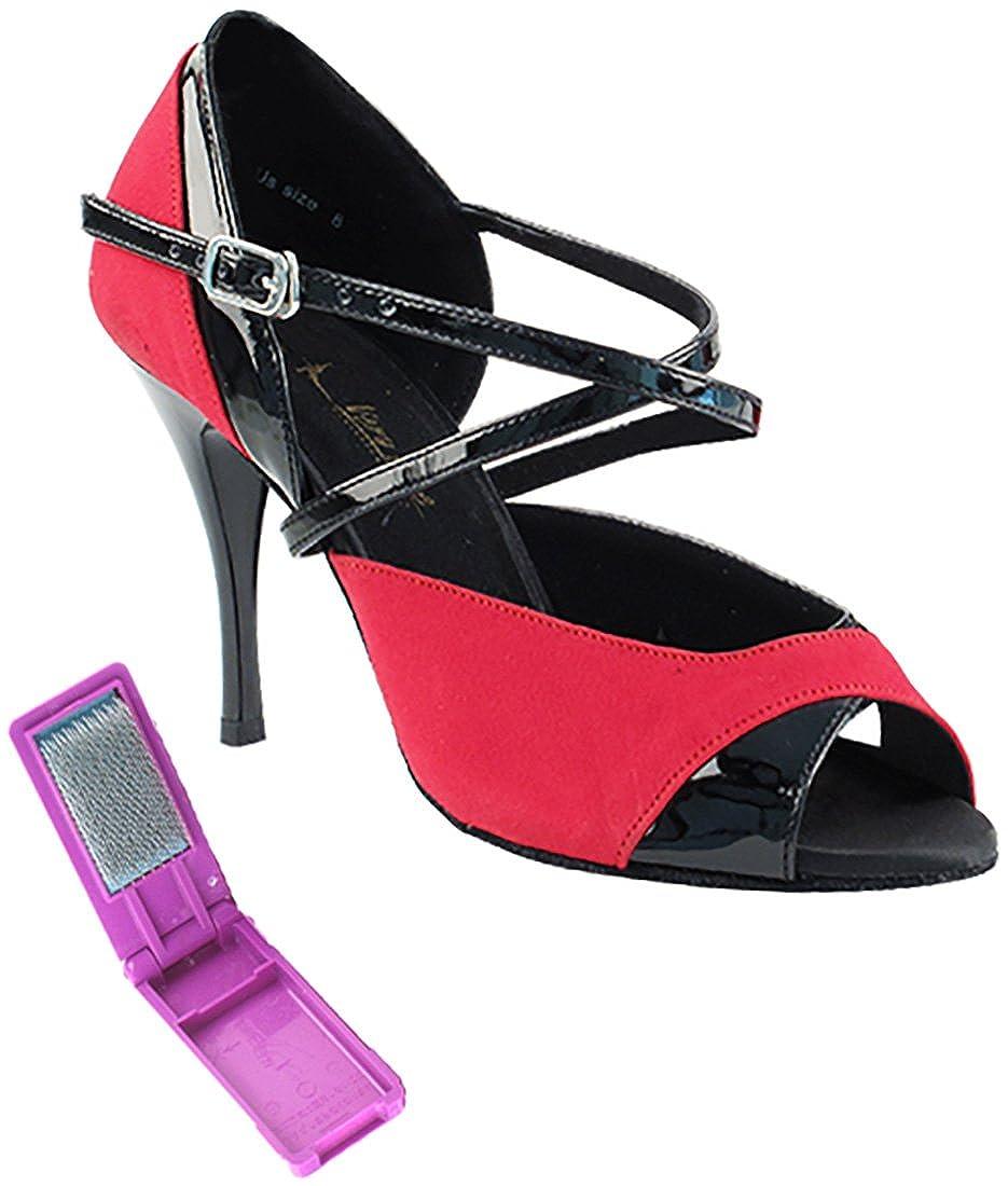 ウイスキー専門店 蔵人クロード [Very Fine Dance Shoes] レディース B075BMN2BM 8.5 Shoes] B(M) Black Velvet US|Red Velvet Black Patent Red Velvet Black Patent 8.5 B(M) US, 中華菜館同發 通販部:df9820a4 --- a0267596.xsph.ru