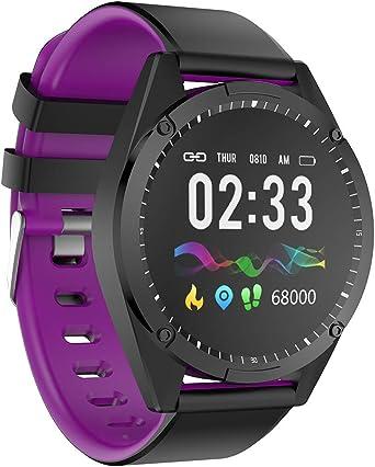Multifunción Reloj Inteligente con Pulsómetros, Smartband Hombre ...