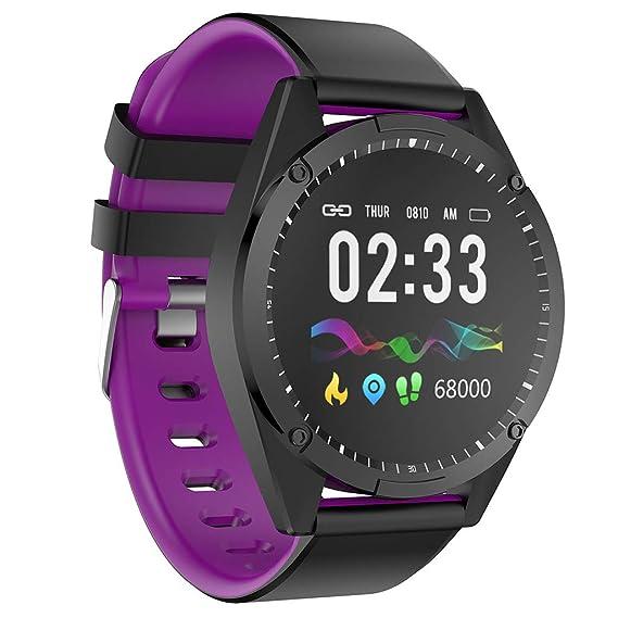 ⌚⌚Multifunción Reloj Inteligente con Pulsómetros, Smartband Hombre ...
