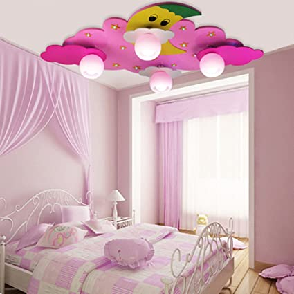 Eye Protection Childrenu0027s Ceiling Light Wooden Childrenu0027s Lamp, Bedroom  Bedroom Ceiling Lamp, Led Boy