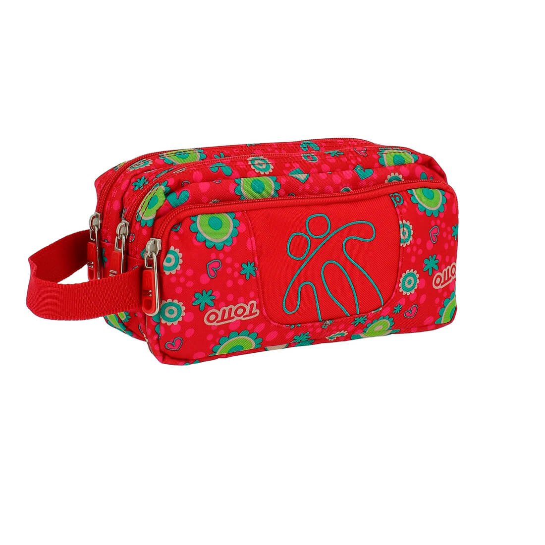 Amazon.com: TOTTO Escolar Pencil Cases, 23 cm, Red (Rojo ...