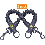 """Bungee Leash Extension Attachment, 18"""" Shock Absorbing Lead Extension Absorber, Prevent Injury on Arm and Shoulder & Save Dogs from Getting Hurt, Great for Bicycle, Running, Walking"""