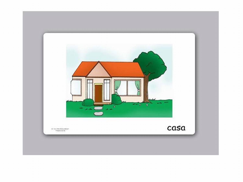Buildings and Construction Flashcards in Spanish Yo-Yee Flashcards Tarjetas de vocabulario Edificios