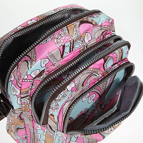 Cabina Femme Mode Nylon La Main couleur épaule Loisir 3 en Sac Fille Bandoulière Sac Porté pour Hobo Sacs Fourre à à Sac tout dHqzrq5