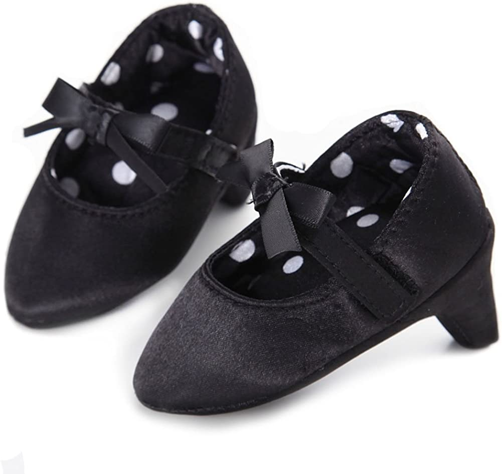 Fashion New Baby Girl Pram Shoes Infant Princess Dress Shoes First Step Shoes