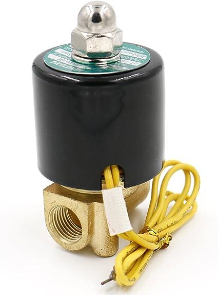 Elettrovalvola CC 24V Micro valvola ad acqua elettrica a gas normalmente chiusa