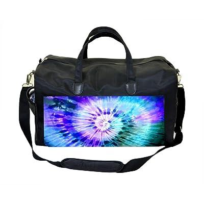 Blue Tie Dye Weekender Bag