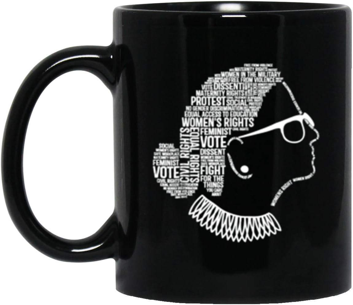 Notorious RBG Ruth Bader Ginsburg Quotes Feminist Gift Mug