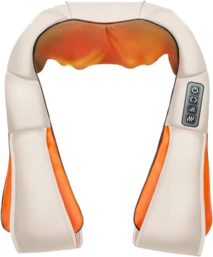 masajeador eléctrico cuello hombro espalda calor shiatsu