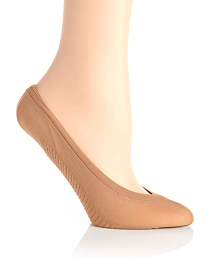 online retailer fe300 3436d Kushyfoot Super Ultra Low Cut Athletic Foot Covers - 2 Pack, Nude, One-