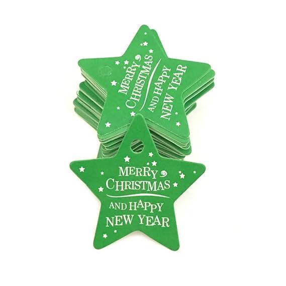 Amazon Com 105pcs Set Christmas Baking Tag Gift Decoration Elevator